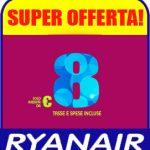 Vola a Settembre e Ottobre ad 8 euro con Ryanair