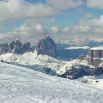 La stagione bianca sulle Dolomiti