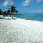 Natale da favola su una spiaggia di Cuba