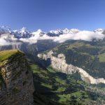 Lauterbrunnen, uno spettacolo paradisiaco