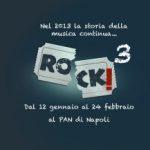 Napoli, con Rock3 la musica è di nuovo in mostra al PAN